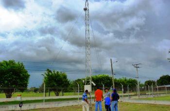 Las estaciones meteorológicas ubicadas en la UTP Coclé y Chiriquí.