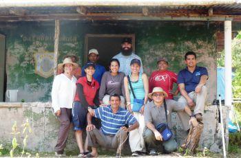 El equipo del CIHH acompañado de la Dra. Miryam Venegas, investigadora asociada