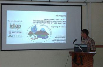 Ing. Arturo Batista, Investigador del Instituto de Investigación Agropecuaria.
