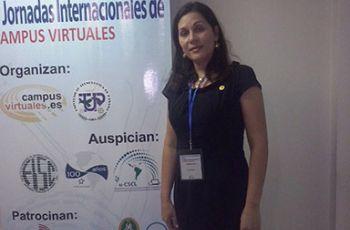 Licda. Luiyiana del C. Pérez, Expositora en la V Jornada.