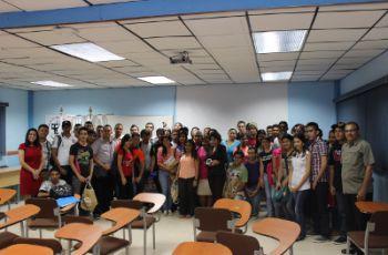 Visita de la Empresa Dell Panamá, a la Sede Regional de Azuero.
