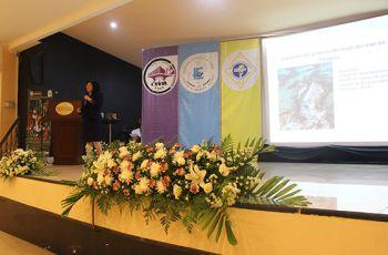 Dra. Casilda Saavedra, Conferencista Magistral en el VII Congreso de Ingeniería.