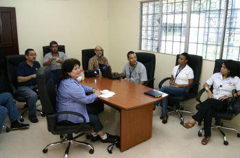 La visita es para dar seguimiento al proyecto de I+D que desarrollan en el CITT.