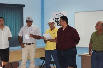 Funcionarios del MINSA en UTP Azuero.