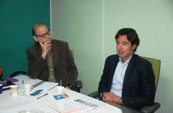 El Ing. Moisés Gracia, MBA, Director de Infraestructuras de Centroamérica.
