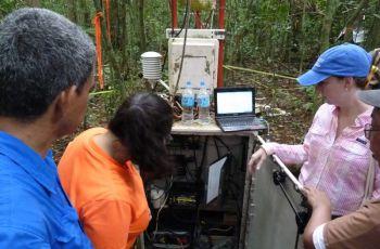 Visita técnica al proyecto en Barro Colorado.