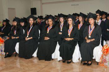 Graduandos del Centro Regional de Azuero.