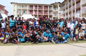 Expositores, Estudiantes y Moradores de Alto de Los Lagos.