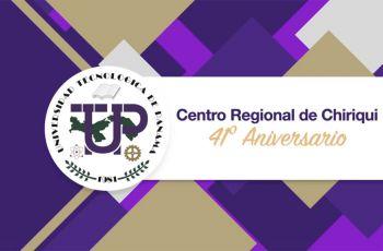 Centro Regional de Chiriquí celebra su XLI Aniversario.