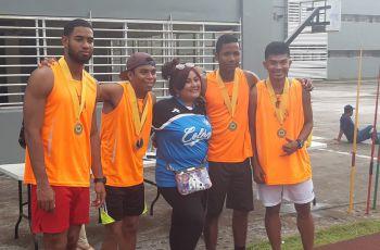 Estudiantes participantes del campeonato
