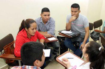 Participantes del taller de Proyección  Personal.