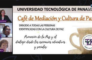 Conversatorio Café de Mediación y Cultura de Paz.