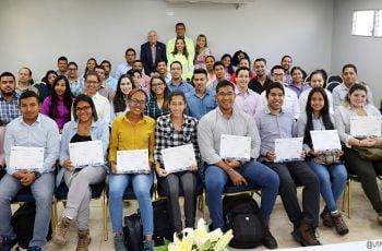 Esta es la quinta versión de la Cátedra Cemex participaron 51 jóvenes de cuarto y quinto año.