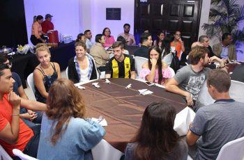 Estudiantes de distintos países del continente Europeo, Asiático y Americano,deMovilidad Internacional en la UTP, participaron enla clausura de este programa.