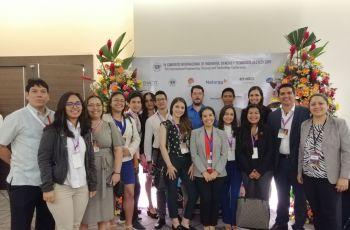 Colaboradores y Tesistas del CIHH en la IESTEC 2019.