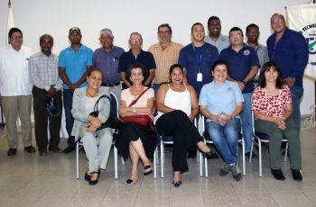 Participantes del conversatorio y presentación del proyecto RLA7021 (ARCAL CXLIX).