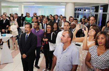 Profesionales egresados, cuerpo diplomático, autoridades de la UTP en Aniversario de Brasil.