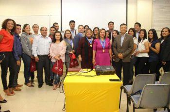 Representantes de dos universidades del Perú estuvieron de visita en la Universidad Tecnológica. de Panamá.