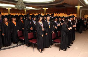 Estudiantes que participaron en la Ceremonia de Graduación, Promoción 2017 del Centro Regional de Panamá Oeste.
