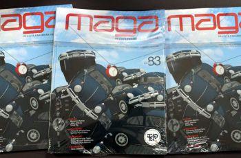 """La presentación de la edición 83 de la Revista Cultural """"MAGA"""", se dio el 4 de diciembre en la UTP."""