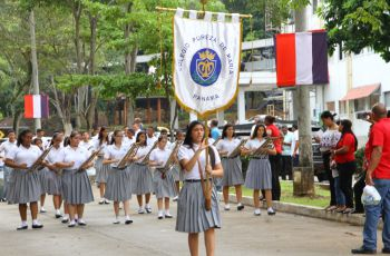 Más de nueve bandas de diferentes colegios y delegaciones de la UTP, se presentaron.