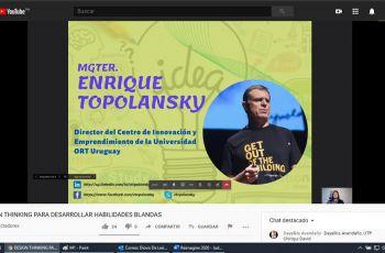 Mgtr. Enrique Topolansky Nese, Conferencista de la Universidad ORT de Uruguay.
