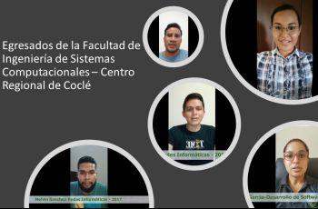 Egresados de la FISC del Centro Regional de Coclé.
