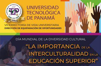 Afiche del evento celebración del Día Mundial de la Diversidad Cultural.