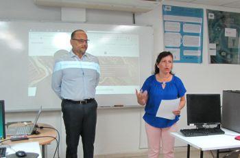 Doctor Miguel Vargas y Subdirectora de Inv. Pogr. y Ext. Ing. María Yahaira Tejedor