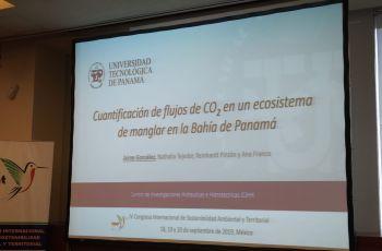 """Presentación del artículo """"Cuantificación de flujos de CO2 en un ecosistema de manglar en la Bahía de Panamá"""""""