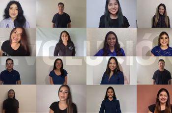 Estudiantes de la FII, organizadores del Congreso.