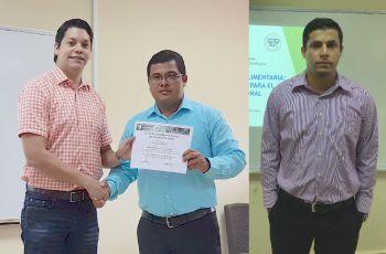 Los tres Investigadores del CITT que participaron en el Congreso de Azuero.