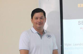 Mgter. Leandro Espinoza.