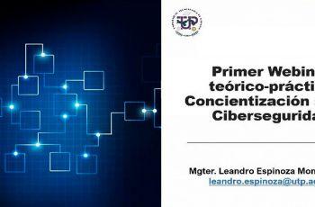 Webinar sobre Concientización en Ciberseguridad