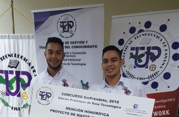 Concurso de Proyectos de Emprendimiento 2019.