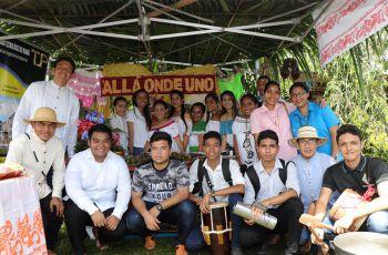 UTP Veraguas realiza convivio folklórico.