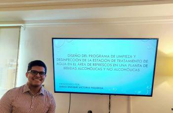 Nuevo Ingeniero en Alimentos, Diego Victoria.