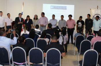 Equipo de MOVIDIS-II durante la presentación del proyecto.