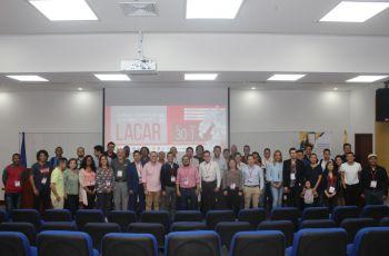 Docentes de la Facultad de Ingeniería Mecánica en LACAR 2019