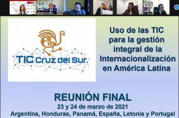TIC Cruz del Sur es el fortalecimiento institucional en el ámbito de la cooperación internacional entre universidades.