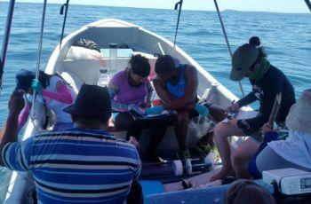 La gira de campo se realizó en los Golfos de Chiriquí y Montijo.