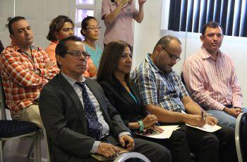 Docentes, investigadores y administrativos, participaron en la capacitación.