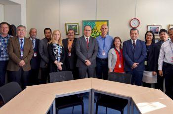 Grupo de los participantes de los estados miembros colaboradores del Proyecto
