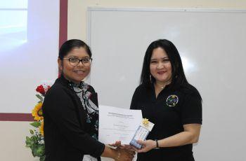 Primer lugar del Concurso Interno de Oratoria de la UTP en Bocas del Toro.