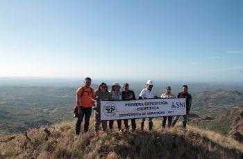 Primera Expedición Científica en Calobre.