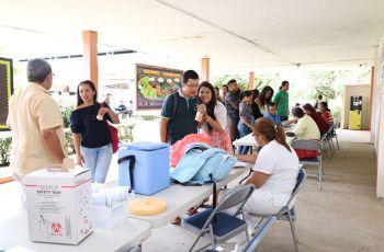 Segunda parte de la Feria de la Salud 2017.