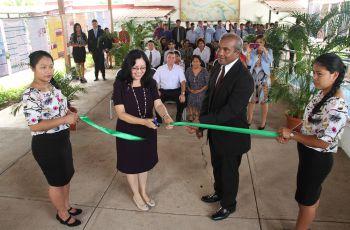 Inauguración de la Jornada de Iniciación Científica en Coclé