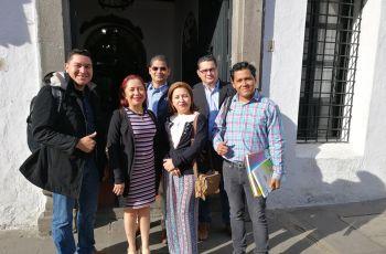 Grupo de investigadores y estudiantes de la UTP Chiriquí, en Congreso Internacional