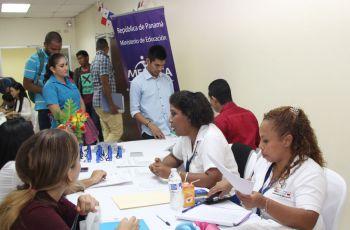 Feria de Empleo para estudiantes de la UTP.