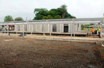 Avanza construcción de nuevas facilidades en Bocas del Toro.